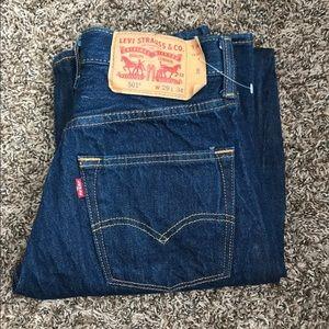 501 Levi Original Riveted Jeans